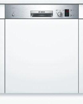 BOSCH Serie | 4 semi-integrated dishwasher 60 cm Stainless steel SMI50D05TR