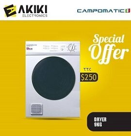 Campomatic Dryer 9kg