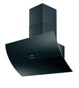 Hoover  Decorative Hood 90 Cm Black  HVSD9800B