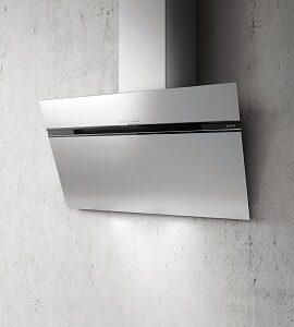 Elica Hood 90 cm Grey Wall-mounted Stripe