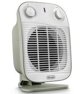 De'Longhi Portable Up Right FAN Heater DHF-HFS50B20.GR