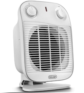 De'Longhi Portable Up Right FAN Heater DHF-HFS50B20.WH