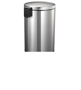 Eko Stainless Steel EVA Step Trash Can 30 L EK9115MT-30L
