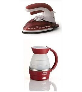 Ariete Electric kettle – Travel Kit iron 830W 7993