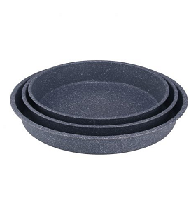 Royal Gourmet Round Bake Pan Set 3 Pieces RBPS04