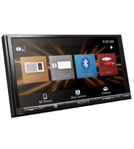 SONY 17.6cm (6.95″) LCD AV Receiver XAV-V750BT