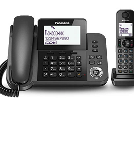 Panasonic 2 in 1-Expandable up to 6 Handsets  KX-TGF310
