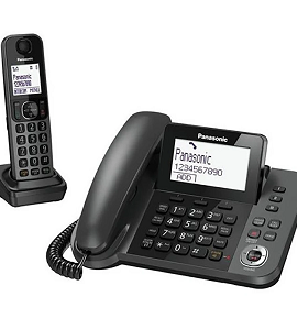 Panasonic 2 in 1-Expandable up to 6 Handsets  KX-TGF320JXM