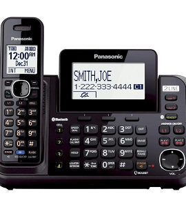 Panasonic 2 Phone Lines, Answering Machine KX-TG9541
