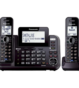 Panasonic 2 Phone Lines With Extra Handy KX-TG9542