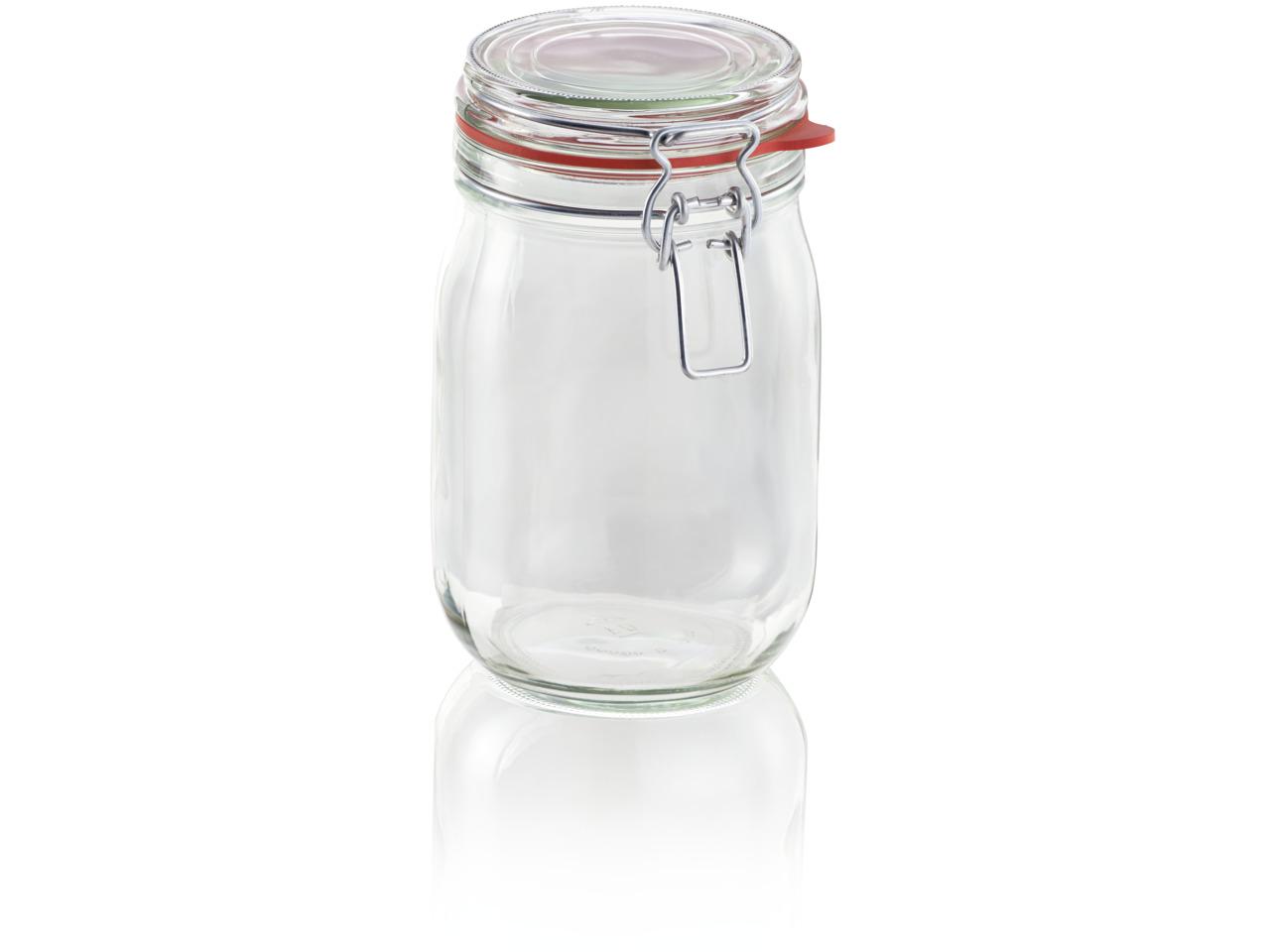 LEIFHEIT 3193 Clip top jar 1140 ml