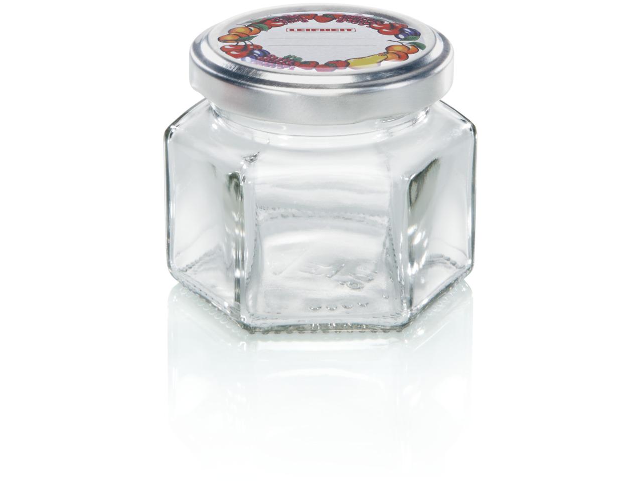 LEIFHEIT 3209 Hexagonal jar 106 ml