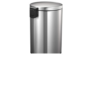 Eko Stainless Steel EVA Step Trash Can 30 L EK9115MT-30L