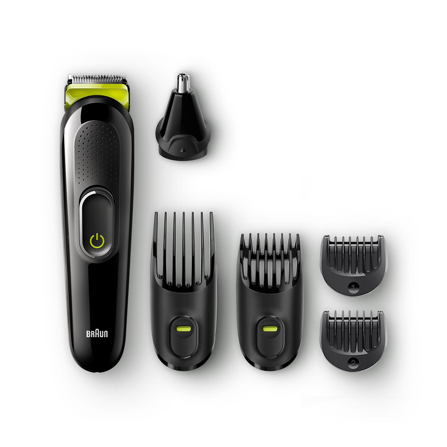 All-in-one trimmer MGK3021, 6-in-1 trimmer, 5 attachments black 2