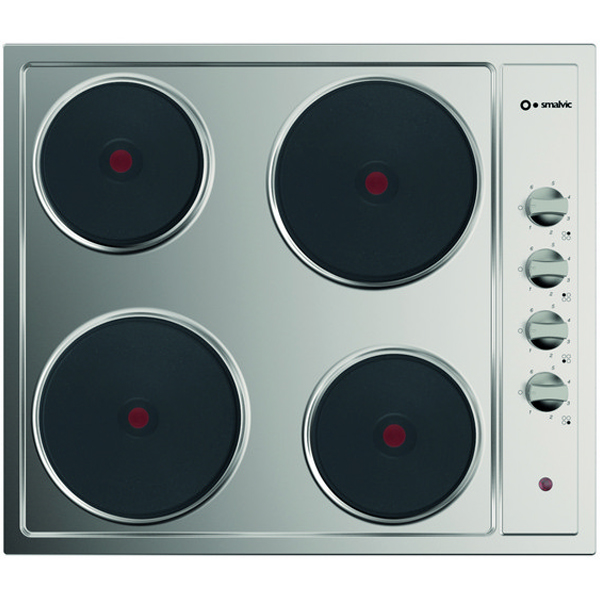 Smalvic Stainless Steel Electric Hob With 4 Heating Plate PI-NC60