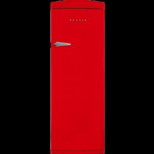 Vestel Retro Refrigerator Single Door Red 323L ST330