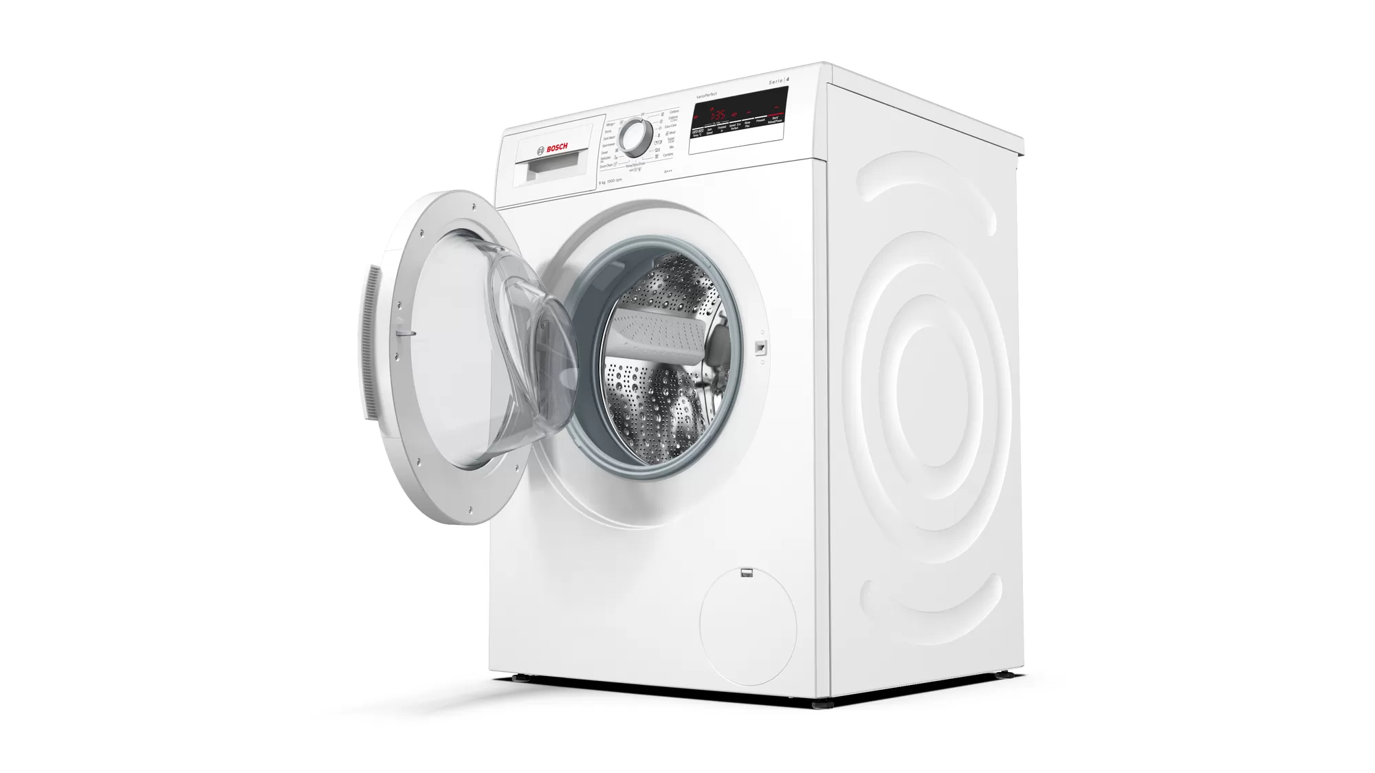 BOSCH Serie | 4 washing machine, frontloader fullsize8 kg 1000 rpm WAK20260ME 2