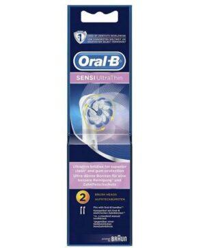 Oral B Brush Heads Sensitive Ultra Thin Refills EB60