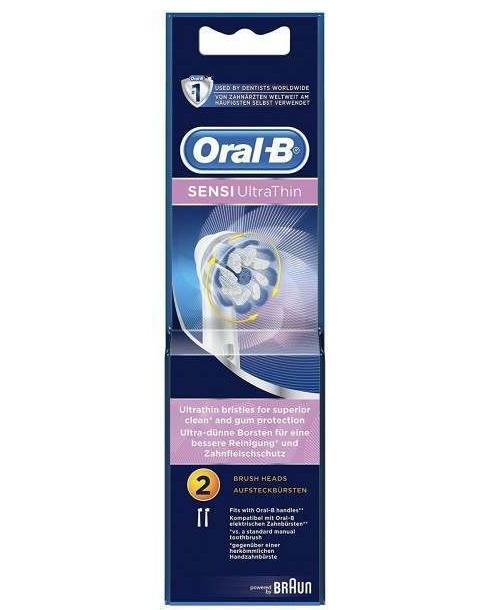 Oral B Brush Heads Sensitive Ultra Thin Refills EB60 2