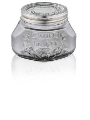 LEIFHEIT 36315 Preserving jar 0.5L smoky grey