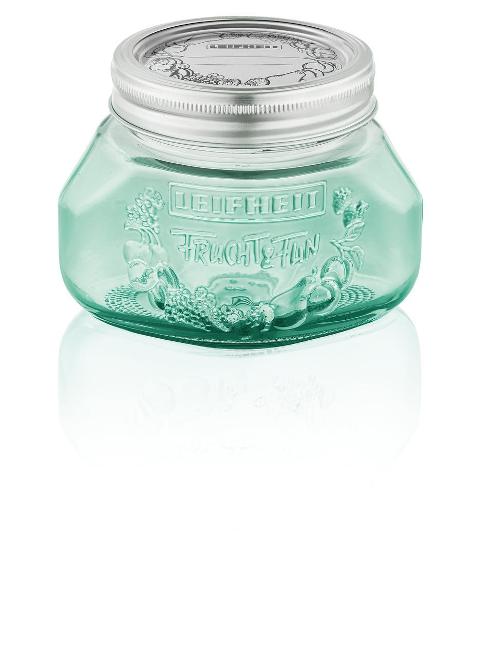 LEIFHEIT 36316 Preserving jar 0.5L jungle green