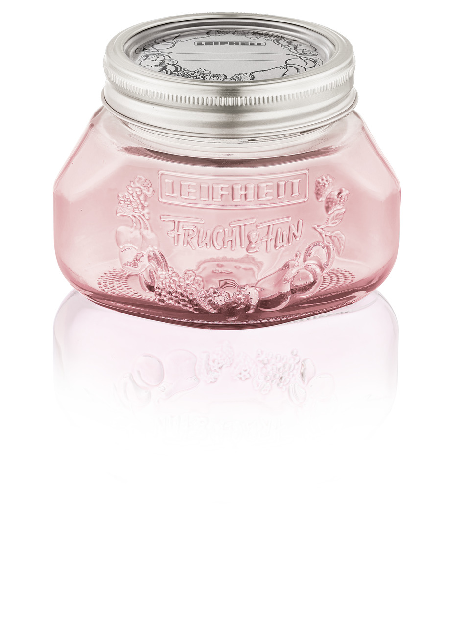 LEIFHEIT 36317 Preserving jar 0.5L tender rose