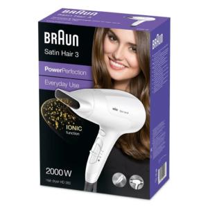 Braun Satin Hair 3 PowerPerfection dryer HD380