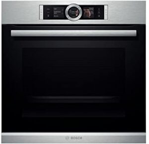 Bosch Serie | 8 Built-in oven with steam function HSG656XS1