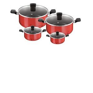 Tefal Essential Chef de France - Set 4 Dutch Oven( 18-22-26-30) B3139263
