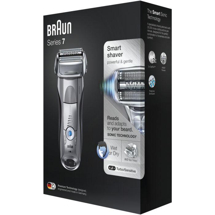 Braun Series 7 7893s Wet & Dry shaver