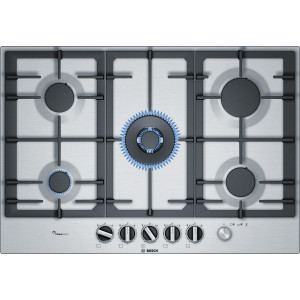 BOSCH Serie | 6 Gas hob75 cm Stainless steel PCQ7A5M90R