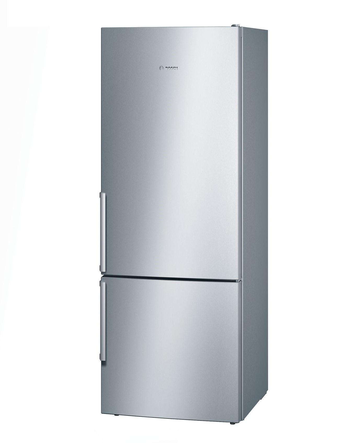Bosch Serie | 8 free-standing fridge-freezer with freezer at bottom Stainless steel (with anti-fingerprint) KGN57PI20U