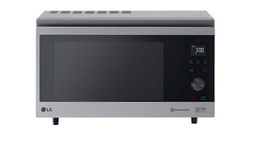 """LG 39 Liter """"Convection"""" NeoChef Microwave Oven MJ3965ACS"""