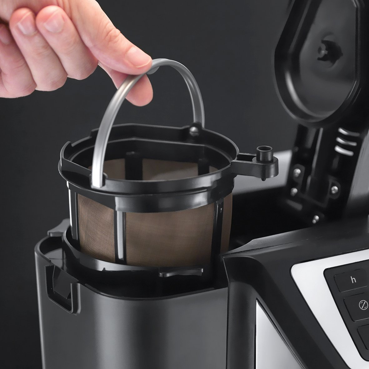 Russell Hobbs Chester Grind & Brew Coffee Maker – Black 2