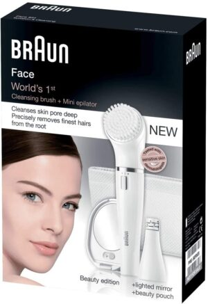 Braun Face 831 Womens Ladies Facial Hair Epilator