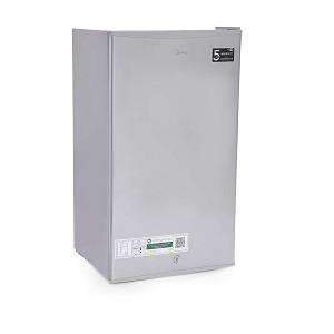 Midea 121 Liters Direct Cool Refrigerator Silver HS121LS