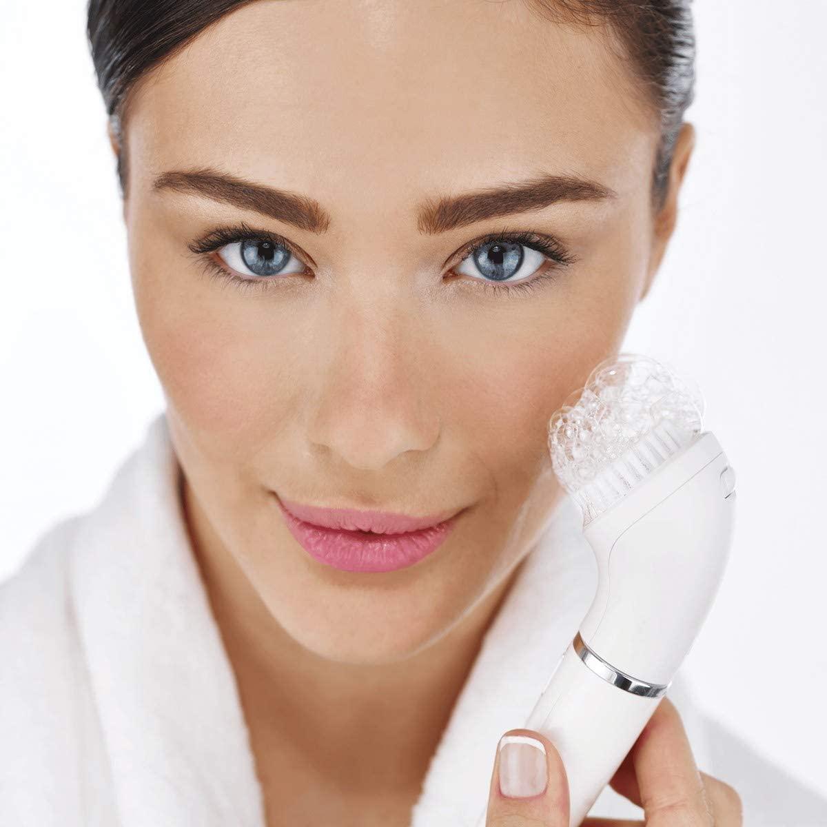 Braun Face 831 Womens Ladies Facial Hair Epilator 4