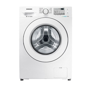Samsung Fully-Automatic Front-Loading Washing Machine (8 Kg, White) WW80J4213KW