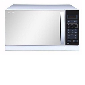 Sharp Grill Microwave Oven White R75MRW