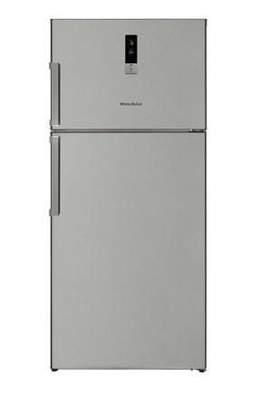 Vestel Digital Freestanding Refrigerator, No Frost, 2 Doors, 24 FT, Silver WPR640SD