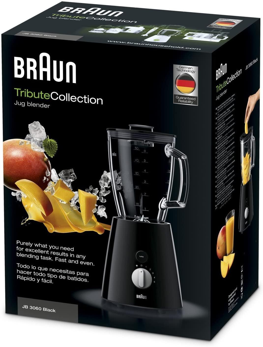 TributeCollection Jug blender JB 3060 Black 4