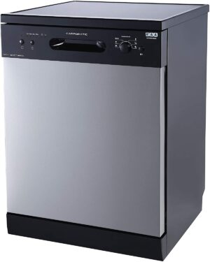 Campomatic Freestanding Dishwasher Black DW914NS