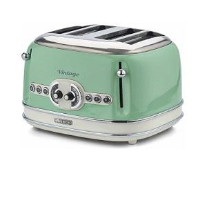 Ariete Retro Style 4 Slice Toaster 0156/04