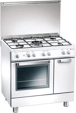 Tecnogas, Cooker 90cm MB95W / P3W9BG5E