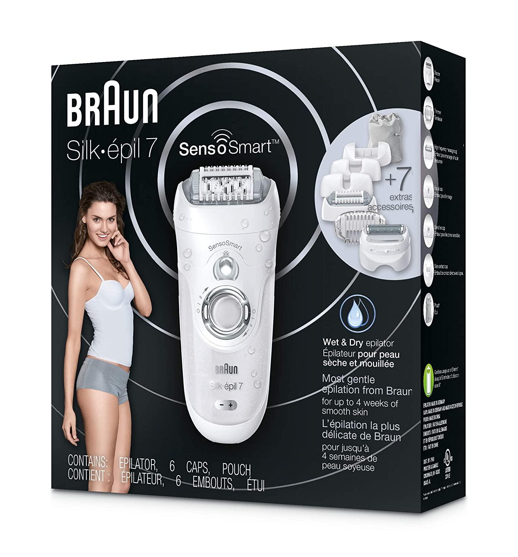 Braun Silk-épil 7 SensoSmart™ 7/880 epilator silver