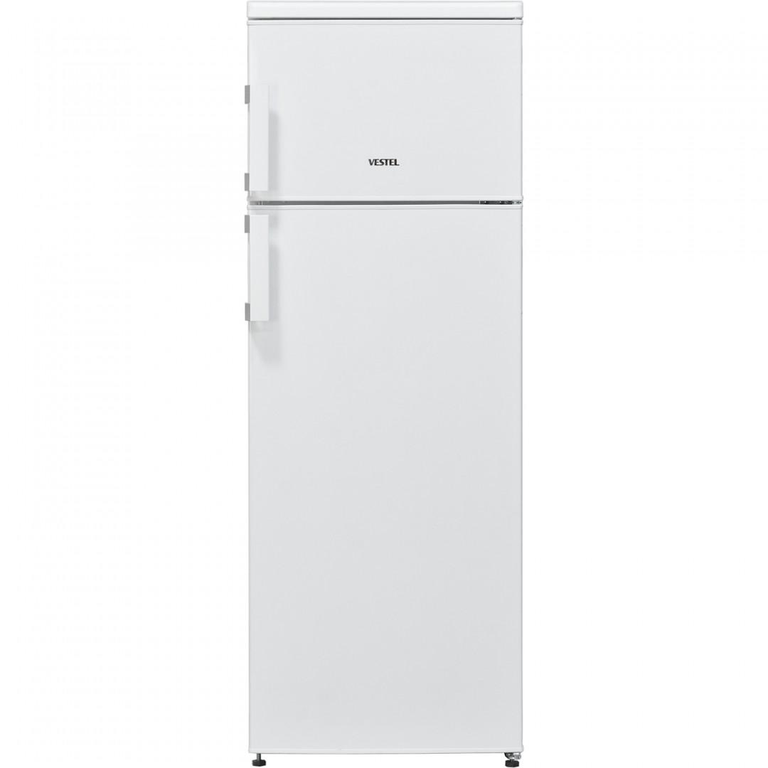 Vestel Top Mount Deforst Refrigerator White 320 Liters SD300W
