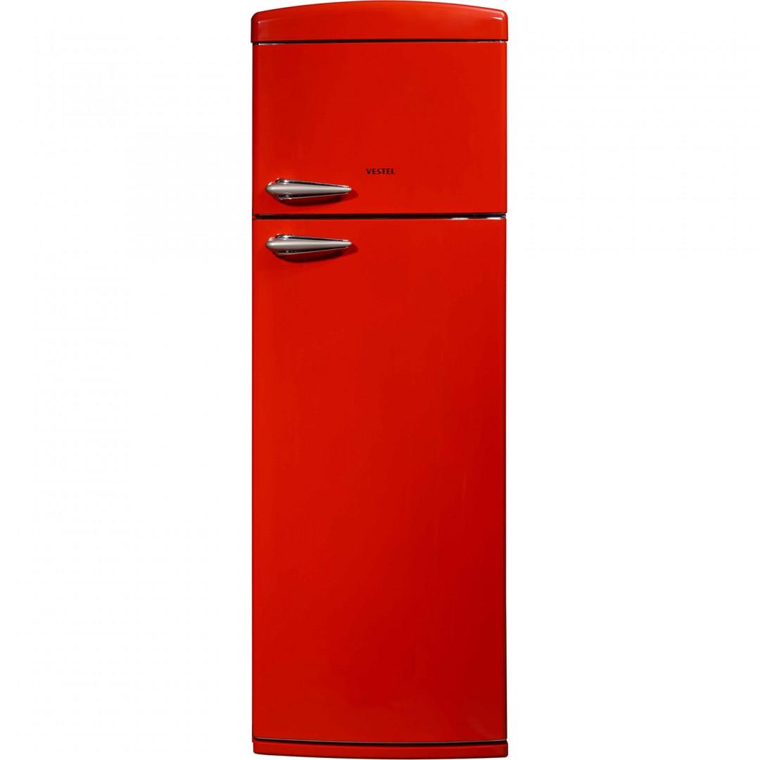 Vestel Retro Refrigerator 2 Doors 310L SD325R