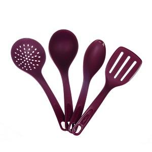 Tefal Dark Ruby Set of 4 (Spoon/skimmer/ladd) K115S414