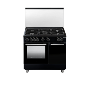 France Cookers Black 9B50S3ZBCIFS