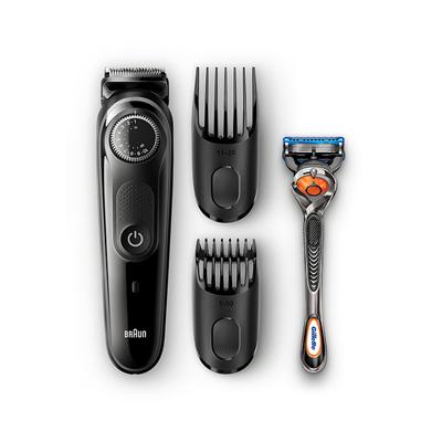 Braun BT5042 Beard Trimmer and Hair Trimmer 39 Length Settings AutoSense Technology Black/Grey 3